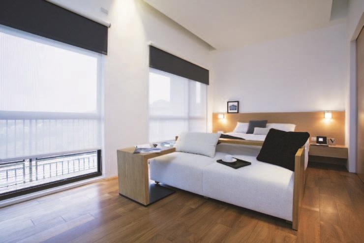 背景墙 房间 家居 酒店 设计 卧室 卧室装修 现代 装修 740_494图片