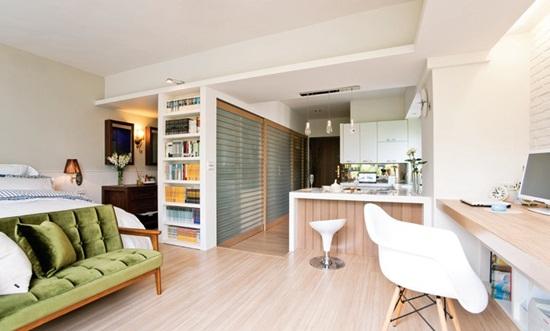 【小坪數】改變浴室位置 12坪擁有更衣室、吧檯不是夢!-設計家 Searchome
