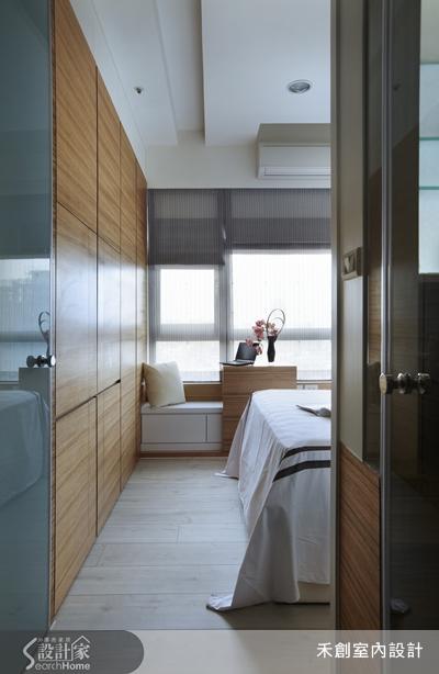 巧用牆壁厚度 29坪房享1+1>2的舒適空間
