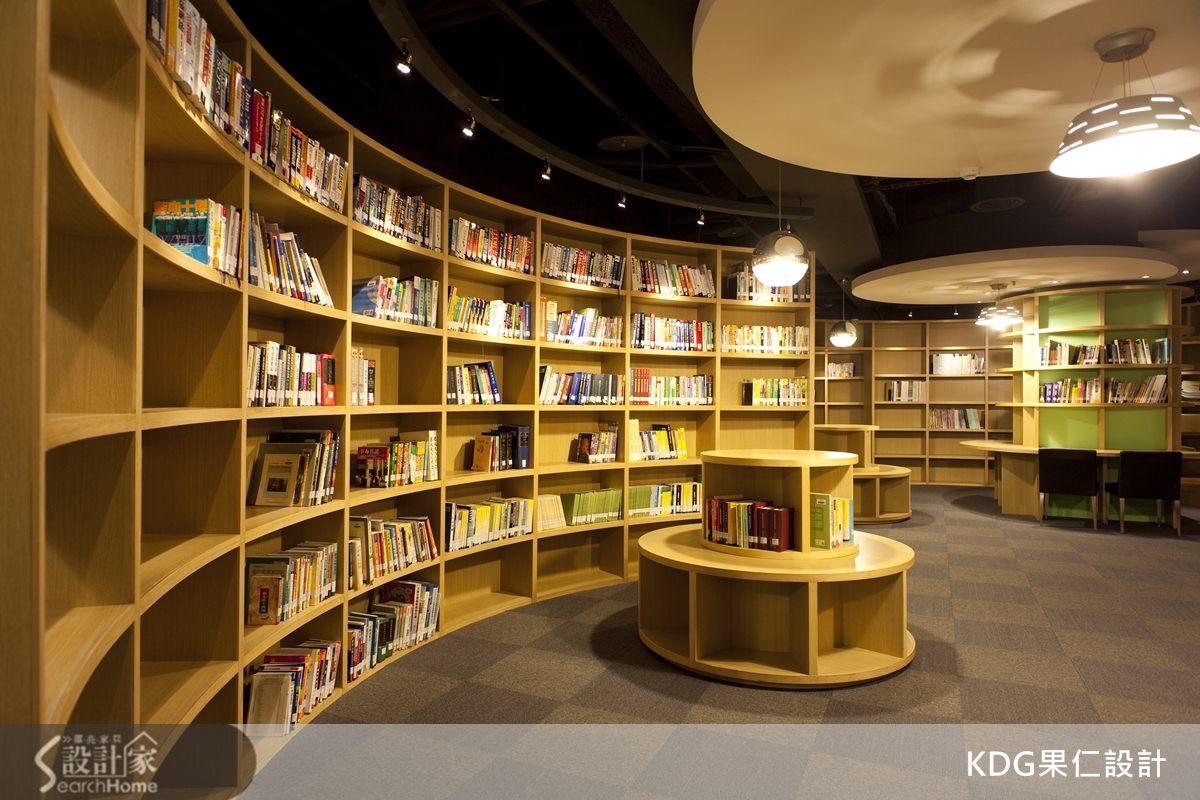 來自北歐瑞典的創意靈感,讓圖書環繞在側的設計