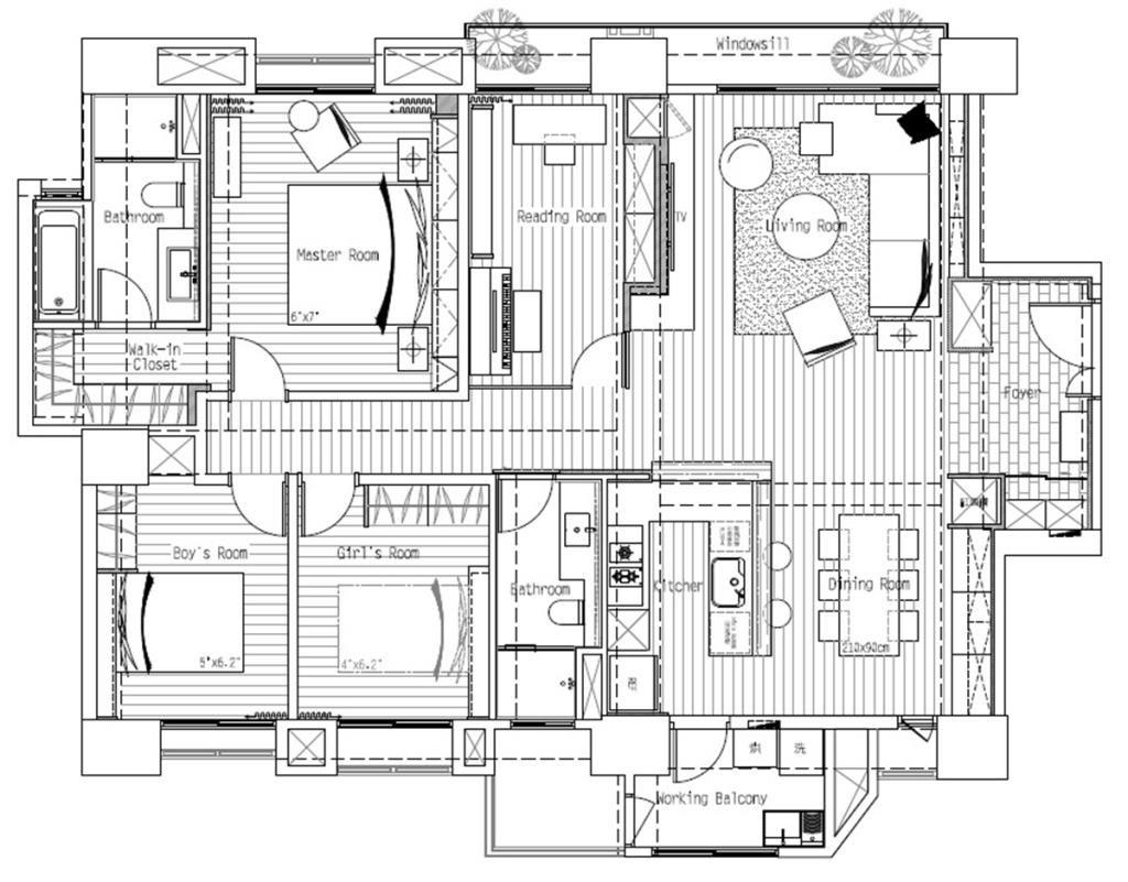 平面圖提供_豐聚室內設計