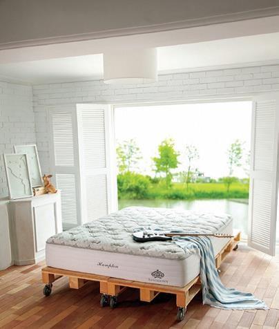 KINGSDOWN 床墊 : 唯有手工精製的美國頂級品牌,才能打造出一張能帶走你所有煩憂的夢幻床墊