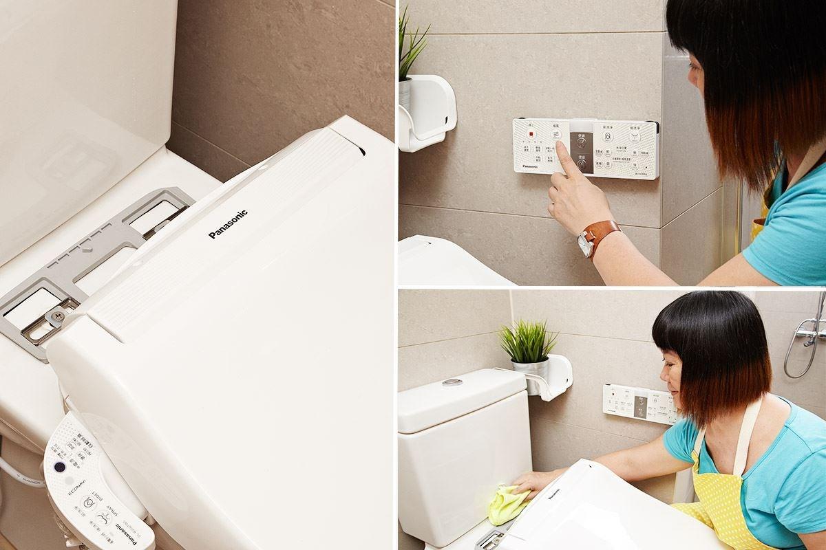 ONE TOUCH 拆卸設計,讓打掃便的輕鬆省力。