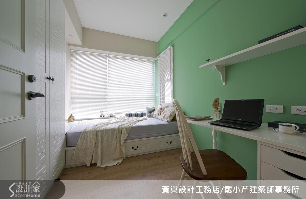 淺綠色男孩房,青春無敵。