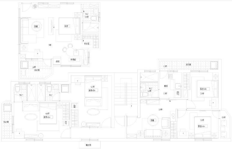 平面圖提供_伍伍陸零室內設計