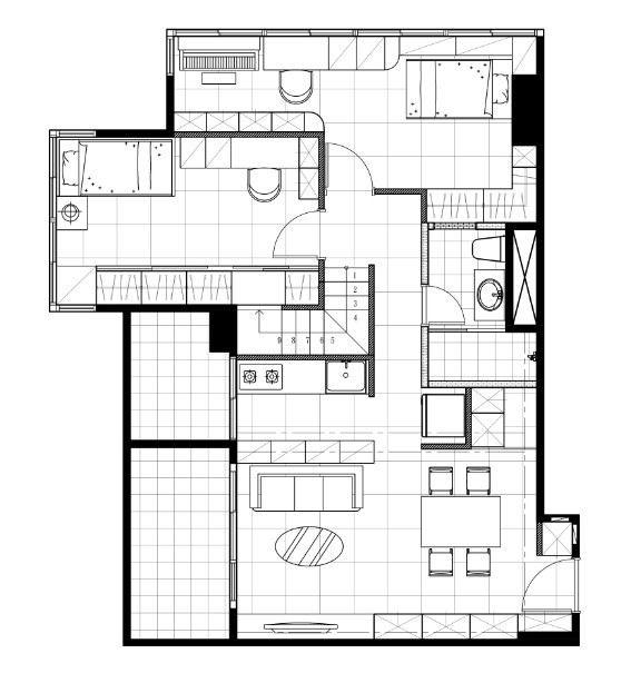 1樓 平面圖提供_漫舞空間設計