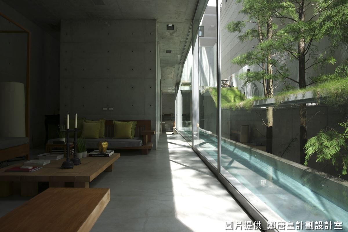 鄭唐皇設計師打造的自地自建私人美術館,符合當代美感,又具有藝術氣息。