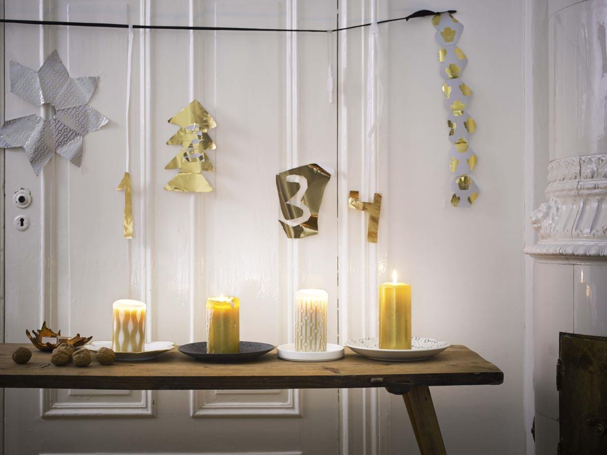 建議運用金銀色系家飾品 打造俐落摩登的聖誕氣息