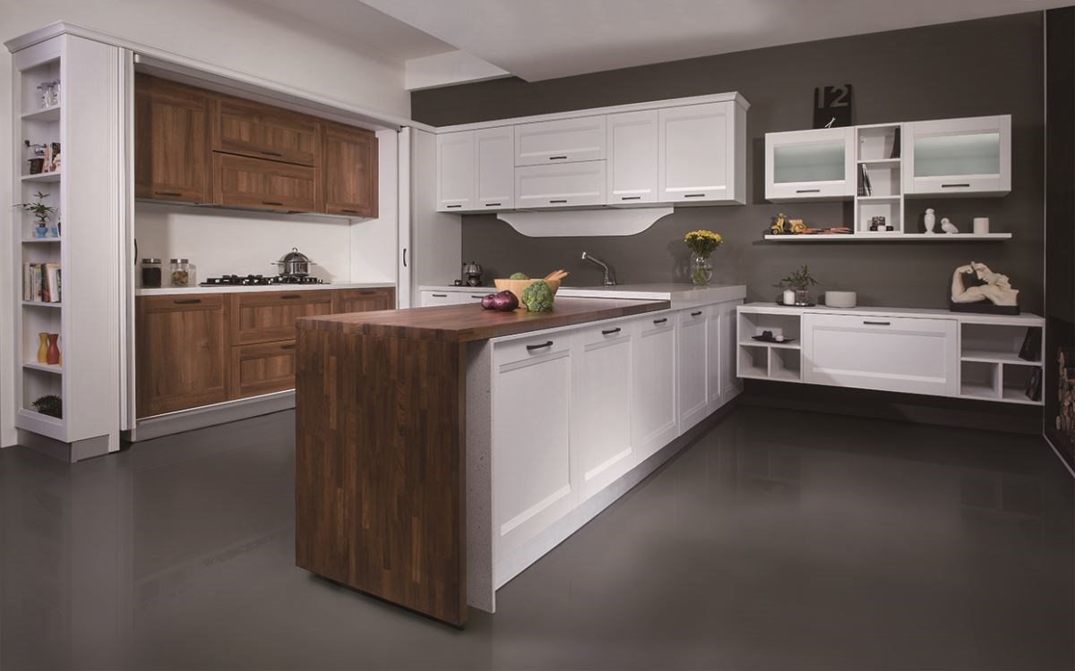 開放式餐廚設計,讓廚房成為凝聚家人向心力的重要場域。