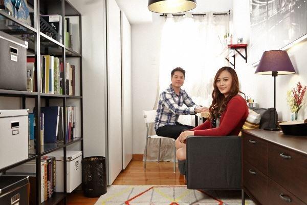 細心的女朋友為男朋友改造出屬於兩個人的創意小角落,一起在這裡享受平凡的幸福。圖片提供_IKEA