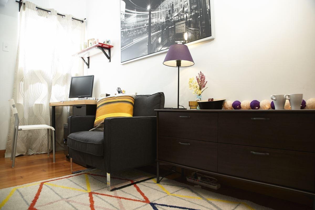 透過改造,回歸原本書房的面貌,打造出一個舒服的辦公與閱讀環境。圖片提供_IKEA