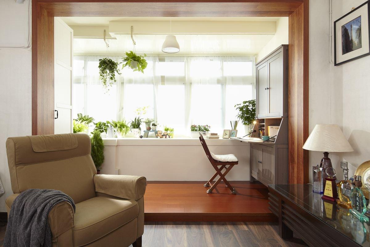 採購北歐風盆栽,加上綠意美景,打造出療癒的清新感受。圖片提供_IKEA