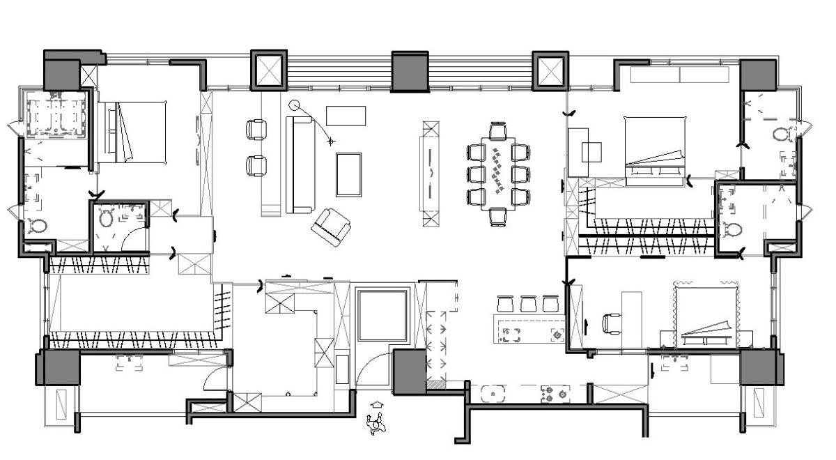 平面圖提供_趙玲室內設計有限公司