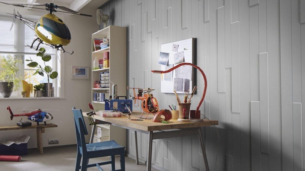 SP-300 立體創意造型牆板,多元變化造型搭配,榮獲 2009 年德國紅點設計創意創新大獎。
