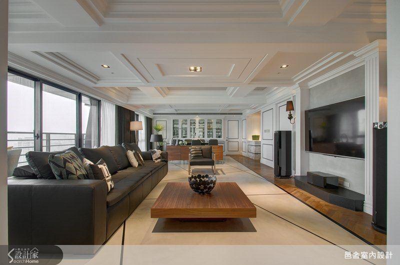 有結合現代與新古典,大器又低調的豪宅