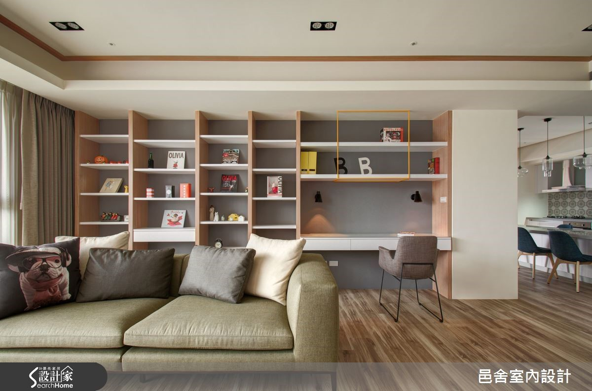 在國外生活過的屋主,從父母的羽翼下單飛,希望自己的家可以像飯店一樣舒適。