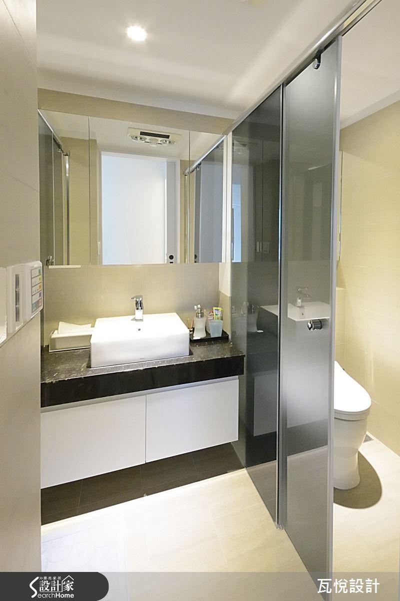 浴廁功能各自獨立,打造舒適無壓的使用心情。