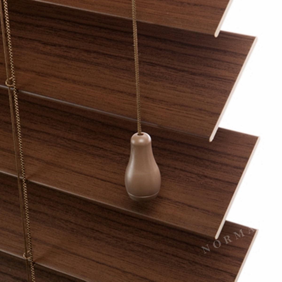 實木百葉簾為鳳凰木材質