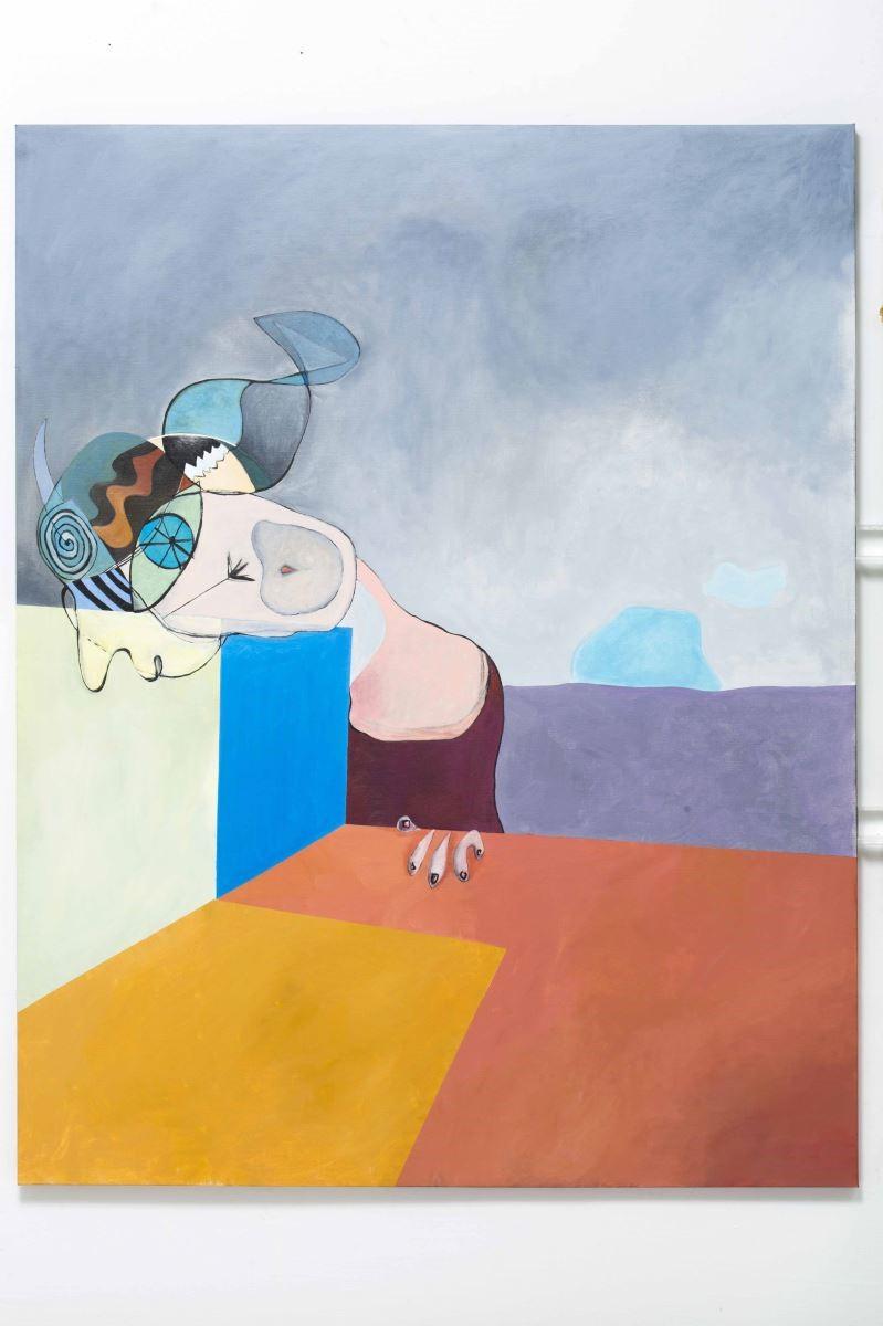邵曉露的藝術風格自由奔放,纖細敏感,色彩強烈。圖片提供_邵曉露