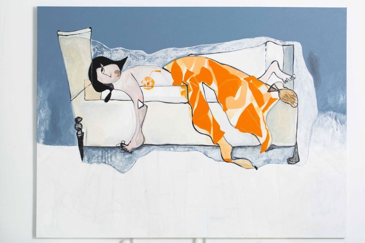 西班牙藝術家邵曉露,運用獨特畫風融合社會複雜性,藉由扭轉現實及抽象的方式表達感受。圖片提供_邵曉露