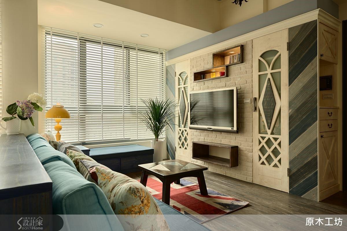 運用自然質樸松木實木,藝術性十足的手感設計,打造獨一無二的紓壓住宅。