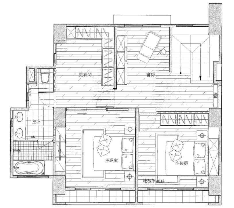 2 樓_平面圖提供_禾創室內設計/禾捷室內裝修設計