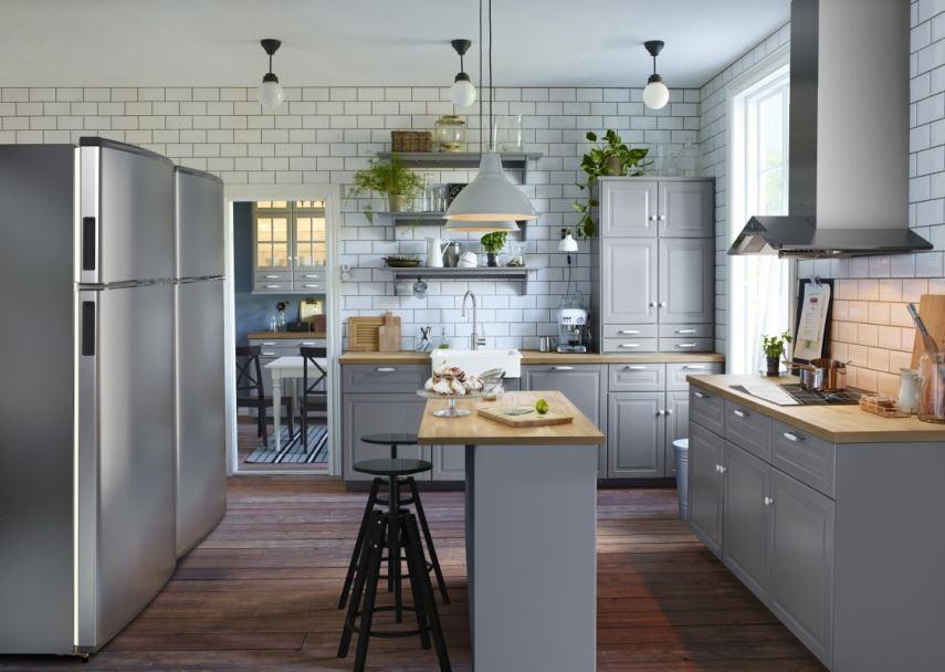 不僅客廳或臥房空間可以自己動手佈置,IKEA 廚房現在透過多樣模組化的選擇,也能自己為居家空間規劃設計,還能同時搭配居家空間不同的風格,不費力完成夢想的廚房。圖片提供_IKEA