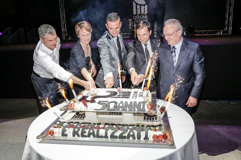 擁有 50 年歷史的 Colombini 集團.家族來自古老的聖馬利諾 ( San Marino ) 共和國。團結和諧的家族力量是品牌能夠穩健成長的背後關鍵。