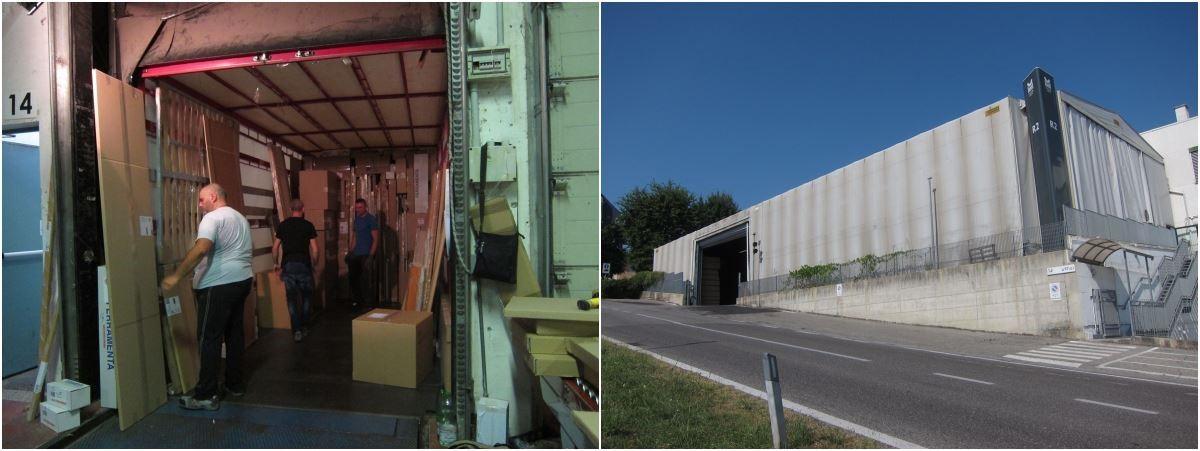 大型倉儲與專屬物流系統,讓貨物集散、運輸一次到位。