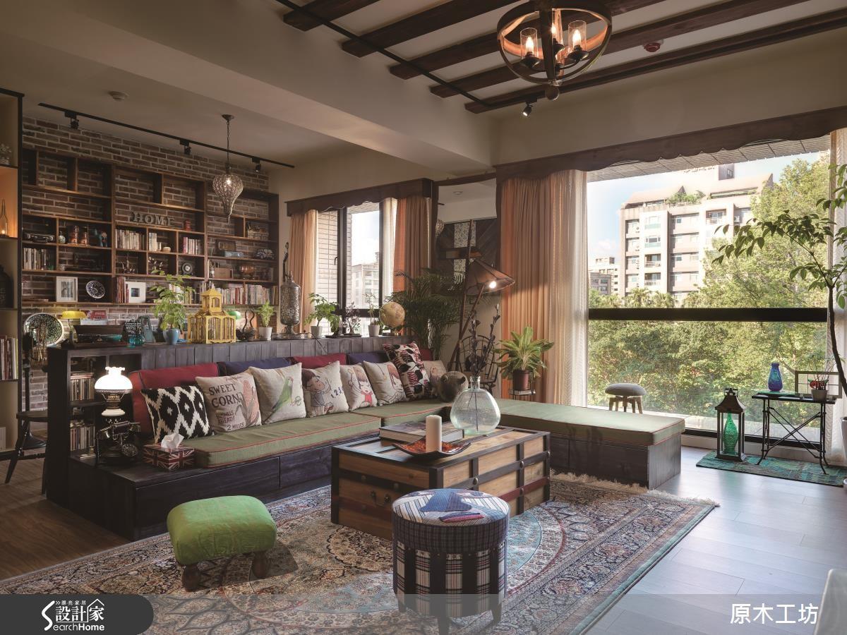 李佳鈺設計師發揮藝術專長,成為居家空間的魔法師,妝點空間魅力。