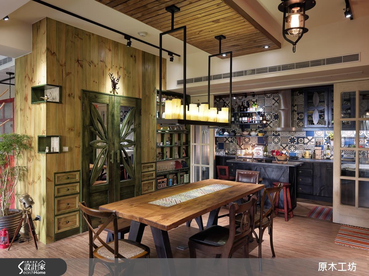 設計師將將色彩、異材質和形狀靈活融合,用獨特創意讓家具及室內設計結合。