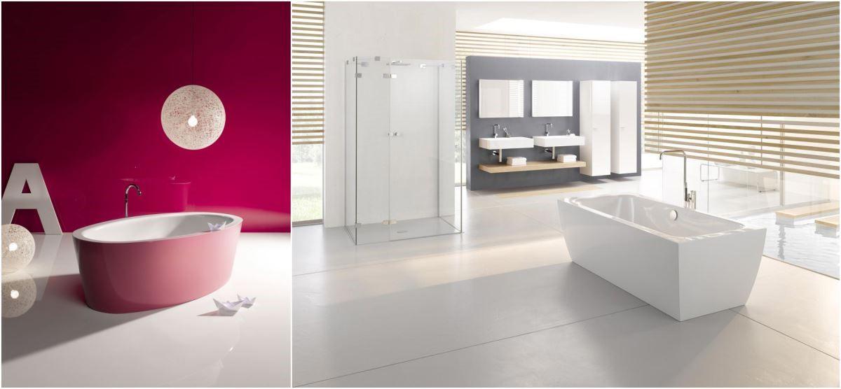BETTE SILHOUETTE 獨立浴缸系列,由高品質鈦鋼板及搪瓷所製作,裙邊與浴缸完美融為一體,無縫設計更易於清潔與保持衛生,並有獨家的「雙色」搭配浴缸可選擇及專屬個性化訂製。