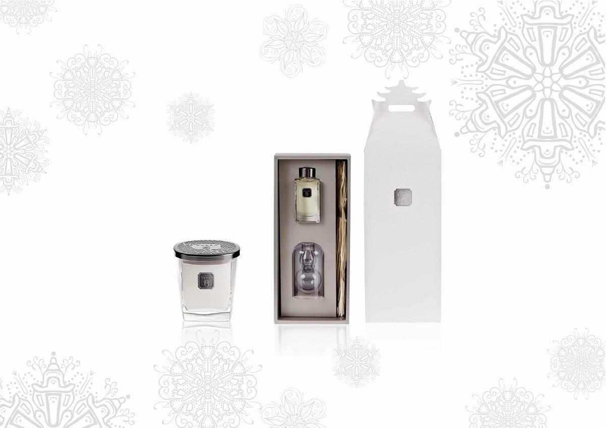 冰心葫蘆(小)、擴香竹禮盒&香氛蠟燭190g(耶誕禮讚推薦價NT$4,670。)圖片提供_宜佳國際有限公司