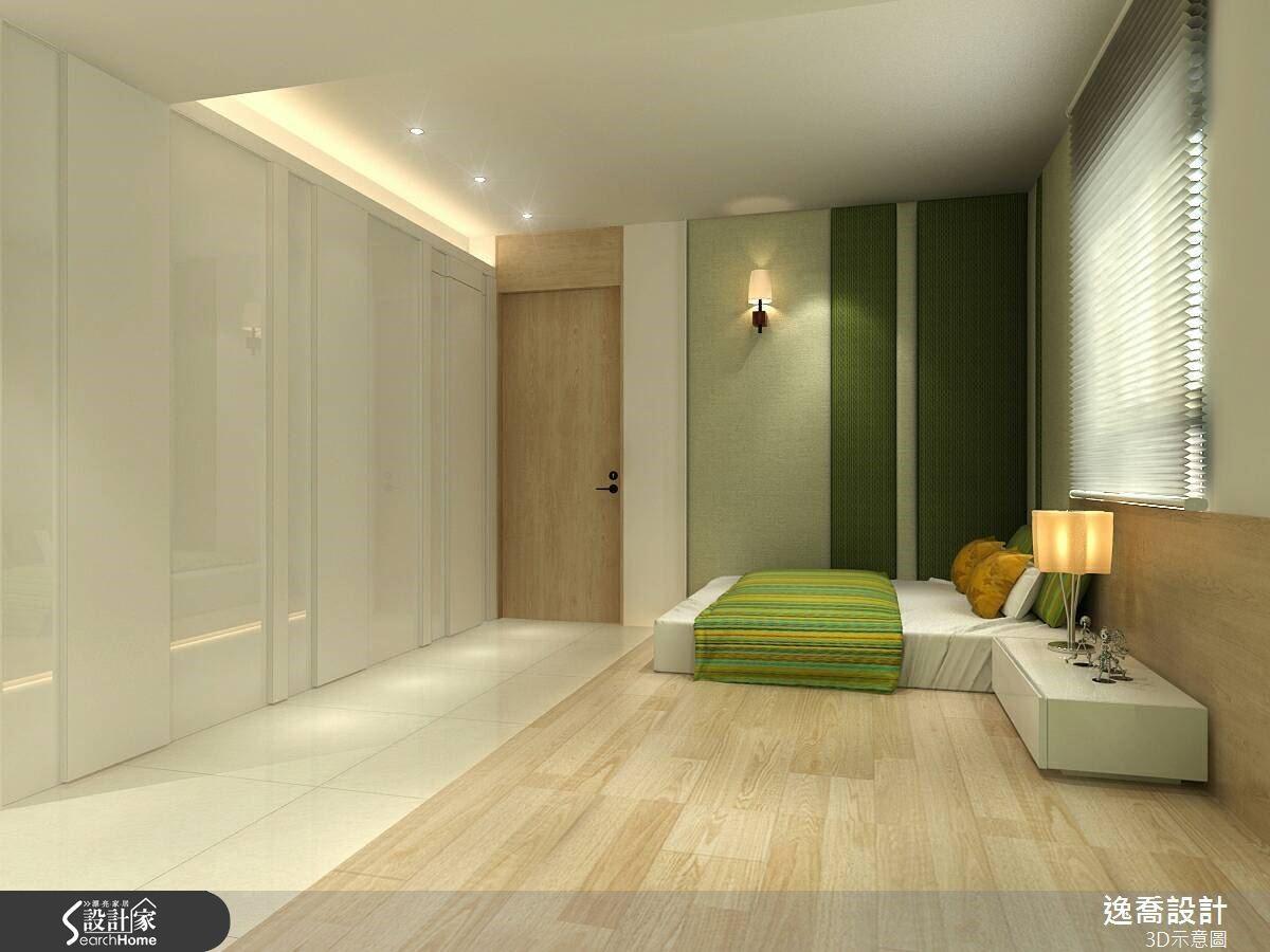 象徵自然的綠色系具有療癒氛圍的特質,讓睡眠環境更加舒適安穩。