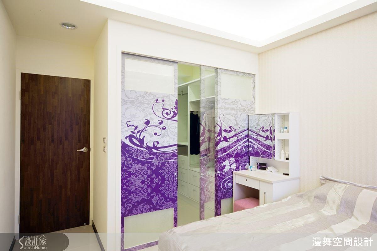 16坪的家也可以有更衣室!?是的!請相信你的眼睛~設計師將原本太小而難以利用的二房,修改成一間擁有更衣室的主臥設計,機能瞬間加倍好用!