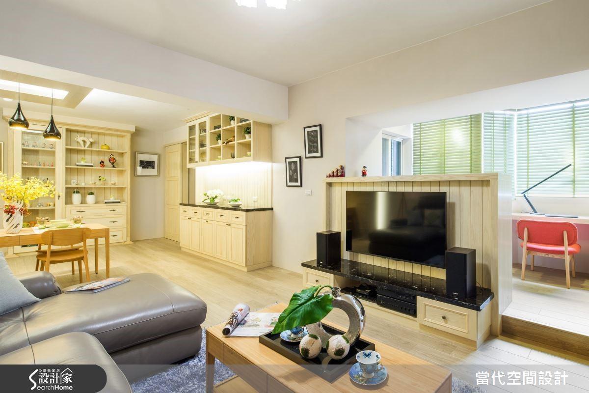 26 坪老屋翻新,整體空間雖不大,卻十足溫馨,是女主人夢想中的避風港。