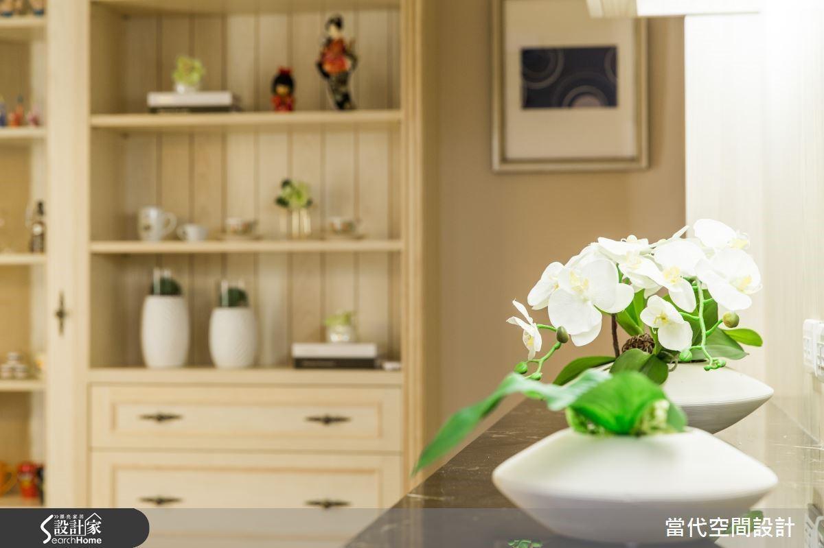 淡雅的花藝陳設,或是壁櫃的小物收藏都能現現出屋主的品味,轉化空間的調性。