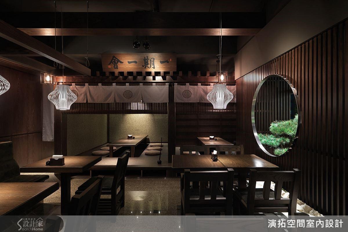 張德良以自身實地探訪遊歷的經驗,從建築文化精髓中汲取日式精神,演繹其涵養,打造具日式人文質感的商業空間。