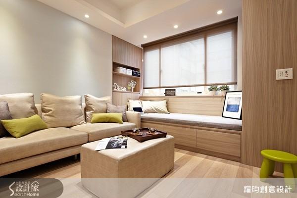 30 坪公寓充滿大量溫潤木作,成功打造放紓壓的療癒空間。
