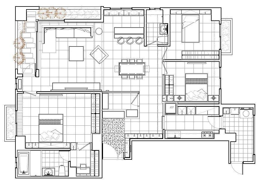 平面圖提供_震騰室內裝修設計