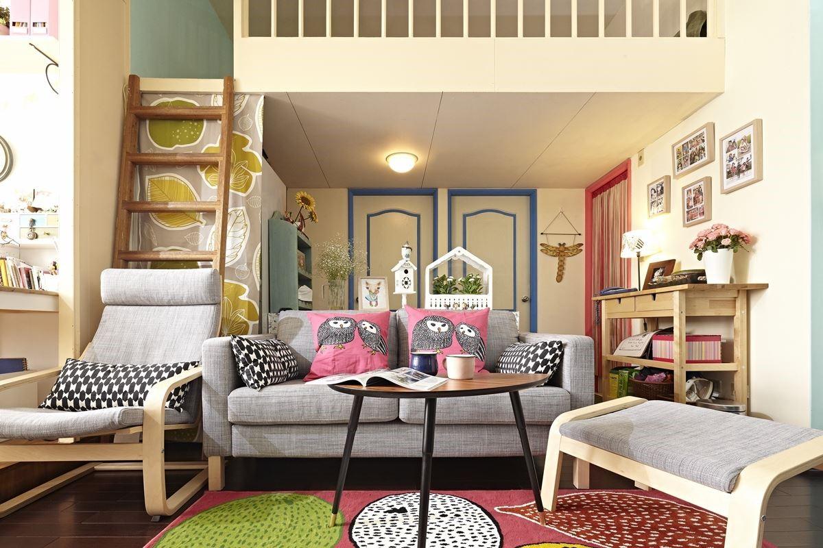 前後對比差太多了!用現成家具就能達成完美收納效果!