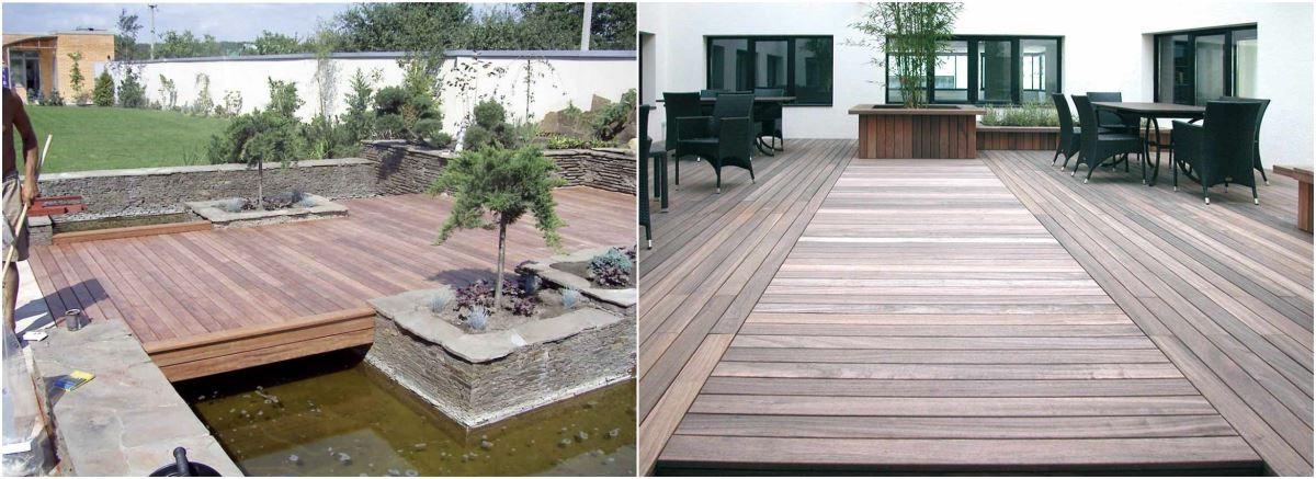 Softline® 露台花園地板,固定方式使得安裝後看不到螺絲釘,不但改善木板對支架抗力,也增加美觀性。