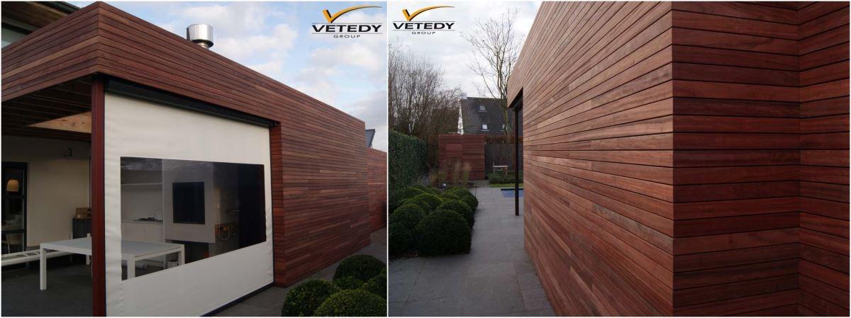 Techniclic® 戶外牆板提供快速安裝,並使用最少螺絲以達到最大耐用度,完工後看不見釘孔,適用於新、舊裝修。
