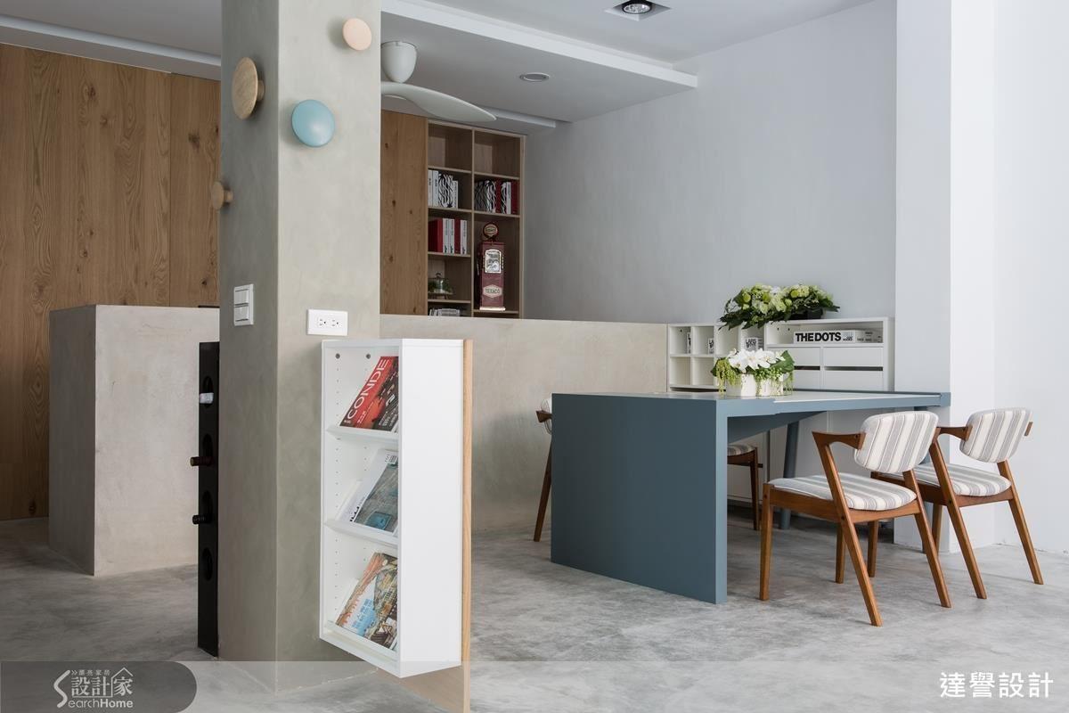 不拘泥風格設定,透過質樸材質與生活溫度打造宜人的工作空間;而開放式設計的穿透與延伸讓空間保有遼闊感,展現井然有序的空間層次。