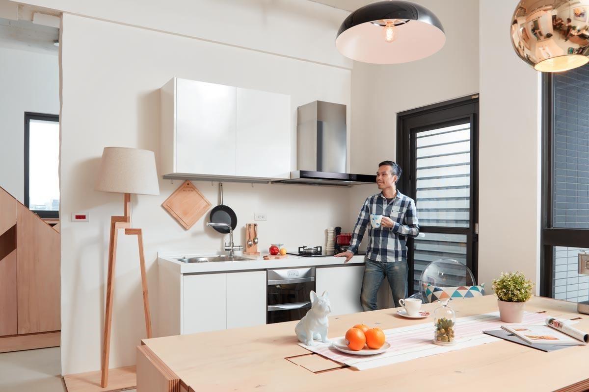 擁有好的設備條件,可以提供設計者更高的自由度。櫻花 3D 環吸除油煙機讓「無油煙廚房」不再只是夢想!