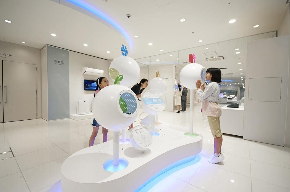 外型可愛亮眼的 Air Bar,每種空氣球都提供不同氣味與感受,能讓身心獲得舒緩或提振精神。