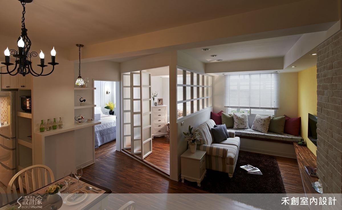 不動隔間牆、不拆除地板,並利用木作取代磚牆,就能有效降低裝修預算。