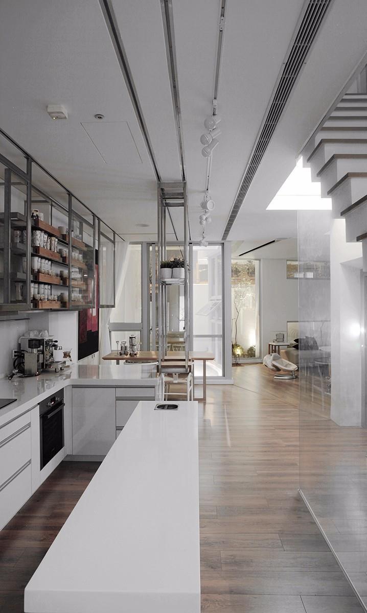 圖片提供_董育綸建築師事務所/內部空間以開放式設計為主,讓人身處於空間生活時, 是能產生更多的互動性。