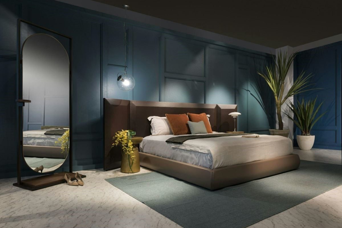 以精品時尚的水波海藍、水波東方綠融入居家牆面,營造經典的不凡品味。