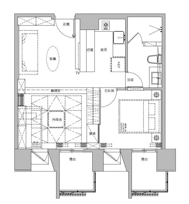 平面圖提供_蒔築設計